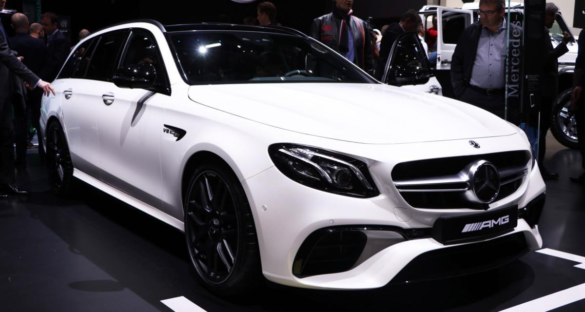 Mercedes-AMG E 63 Estate : déménageuse et drifteuse