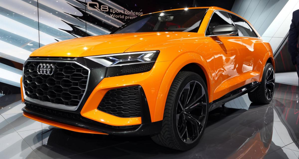 gen ve 2017 audi q8 sport concept. Black Bedroom Furniture Sets. Home Design Ideas