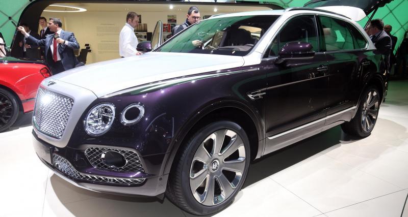 Bentley Bentayga par Mulliner : pachyderme multicolore