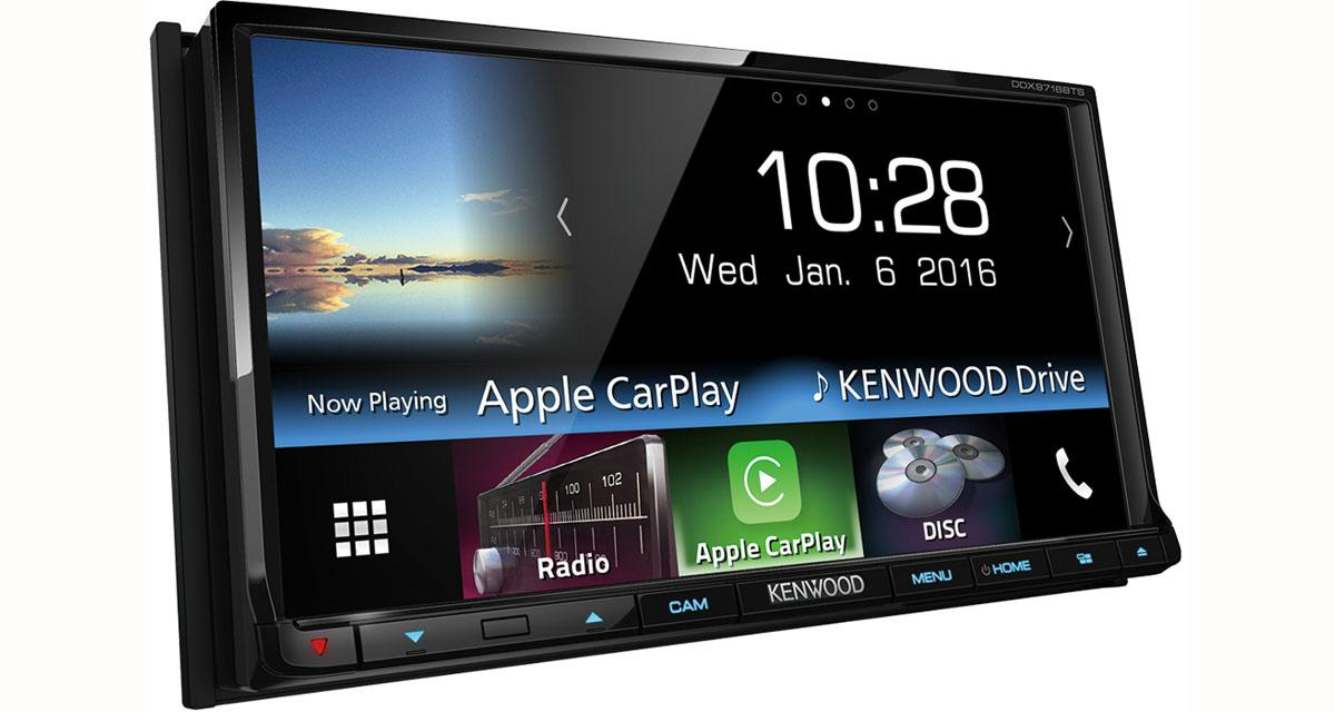 Kenwood propose un autoradio vidéo avec connectivité Smartphones à un prix très attractif