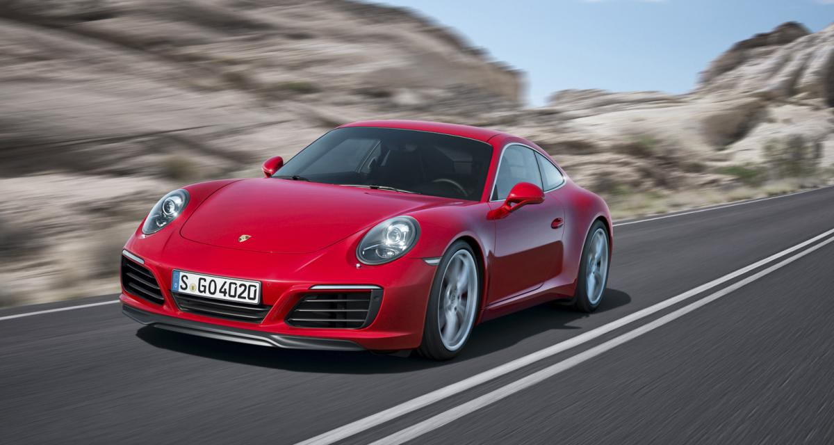 Porsche 911 S : maintenant avec 30 ch supplémentaires grâce à Porsche Exclusive
