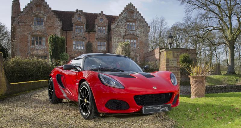 Lotus Elise Sprint: 220 ch pour 798 Kg !