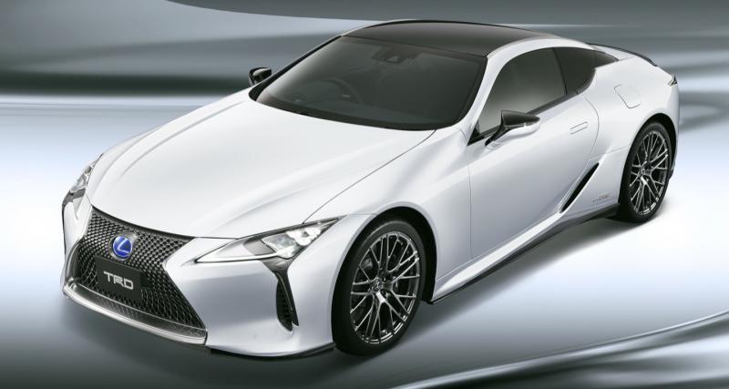 La Lexus LC passe entre les mains du préparateur TRD
