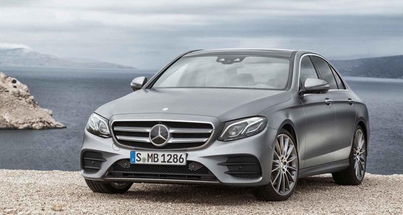 Nouvelle Mercedes Classe E : une défaillance possible au niveau des essuie-glaces