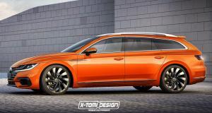 Et si la Volkswagen Arteon se déclinait en break ?