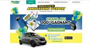 45 ans de Feu Vert : des pneus 100% remboursés et une Smart ForFour à gagner