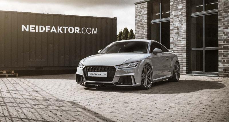 Audi TT RS par Neidfaktor : made in Alcantara