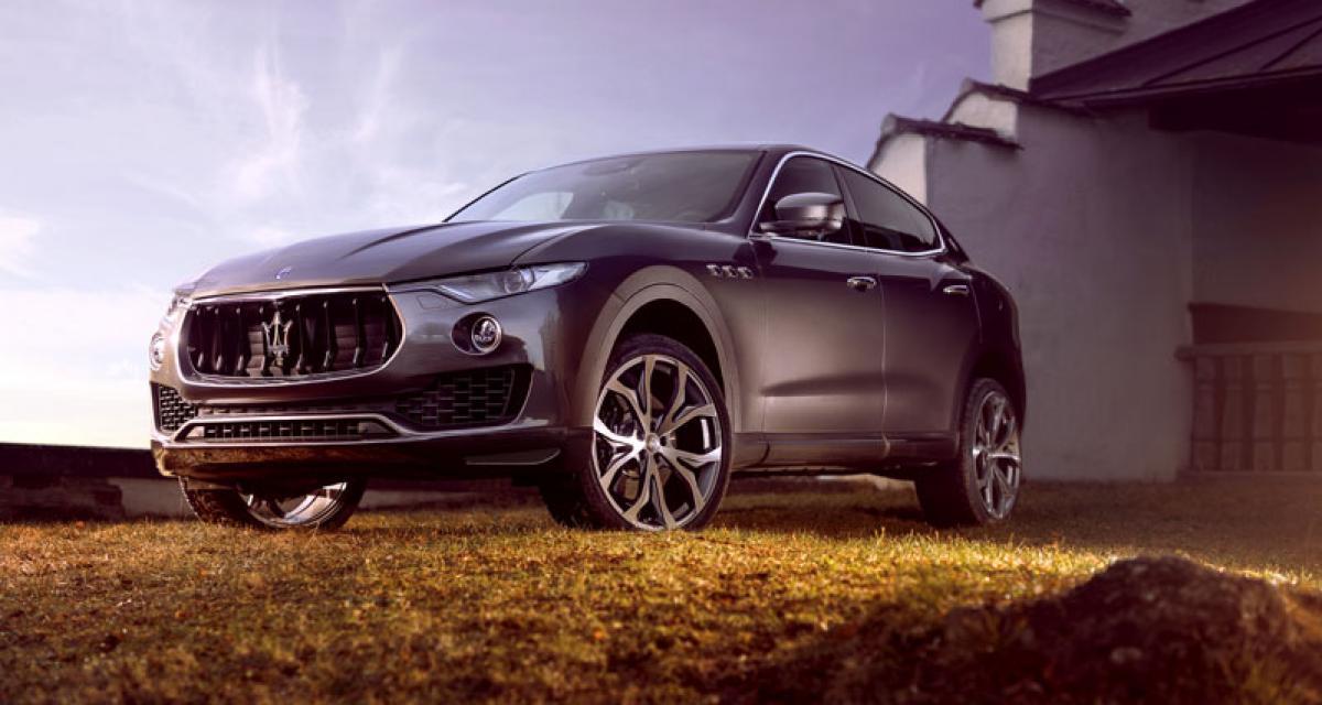 Virilisez votre Maserati Levante grâce à Novitec Tridente