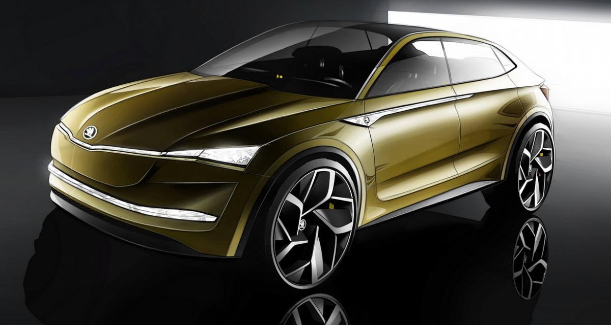 Skoda Vision E : ce sera finalement un SUV coupé 100% électrique