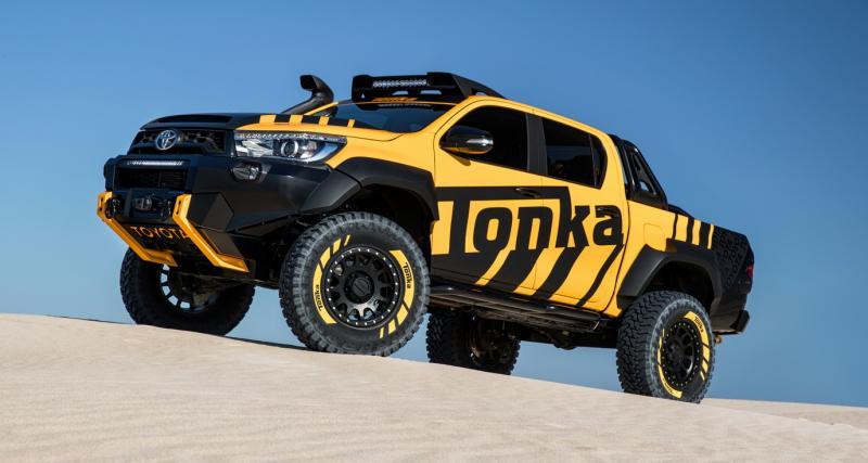 Toyota Hilux Tonka : jouet pour très grands enfants