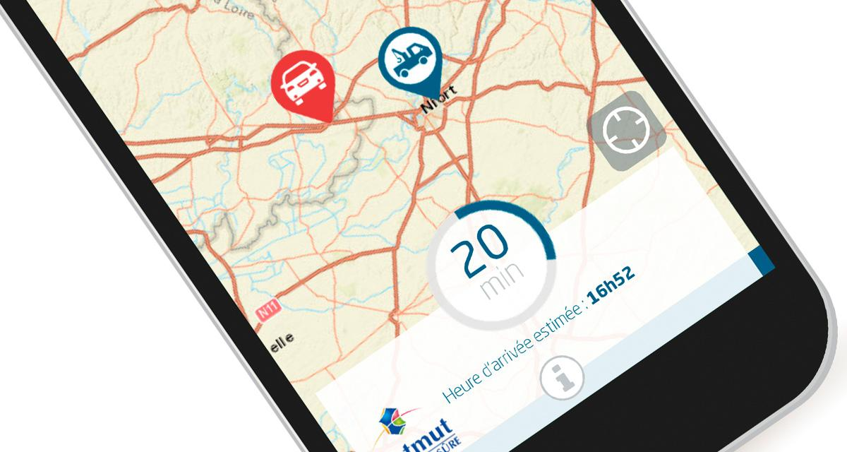 La matmut lance une application pour g olocaliser sa for Se geolocaliser
