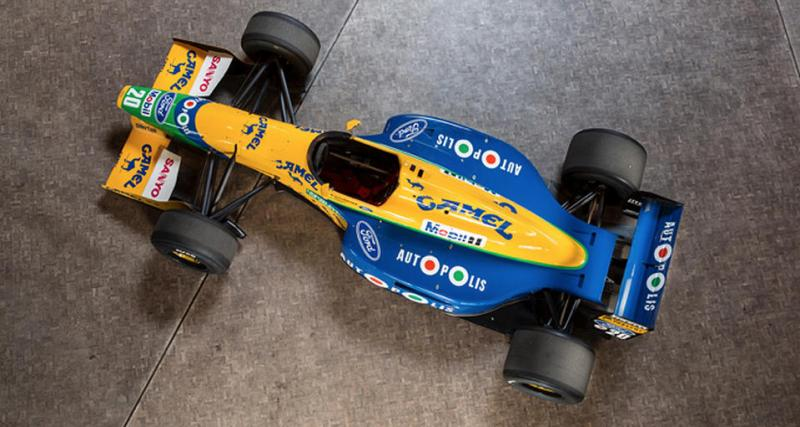 La F1 pilotée par Michael Schumacher en 1991 bientôt aux enchères