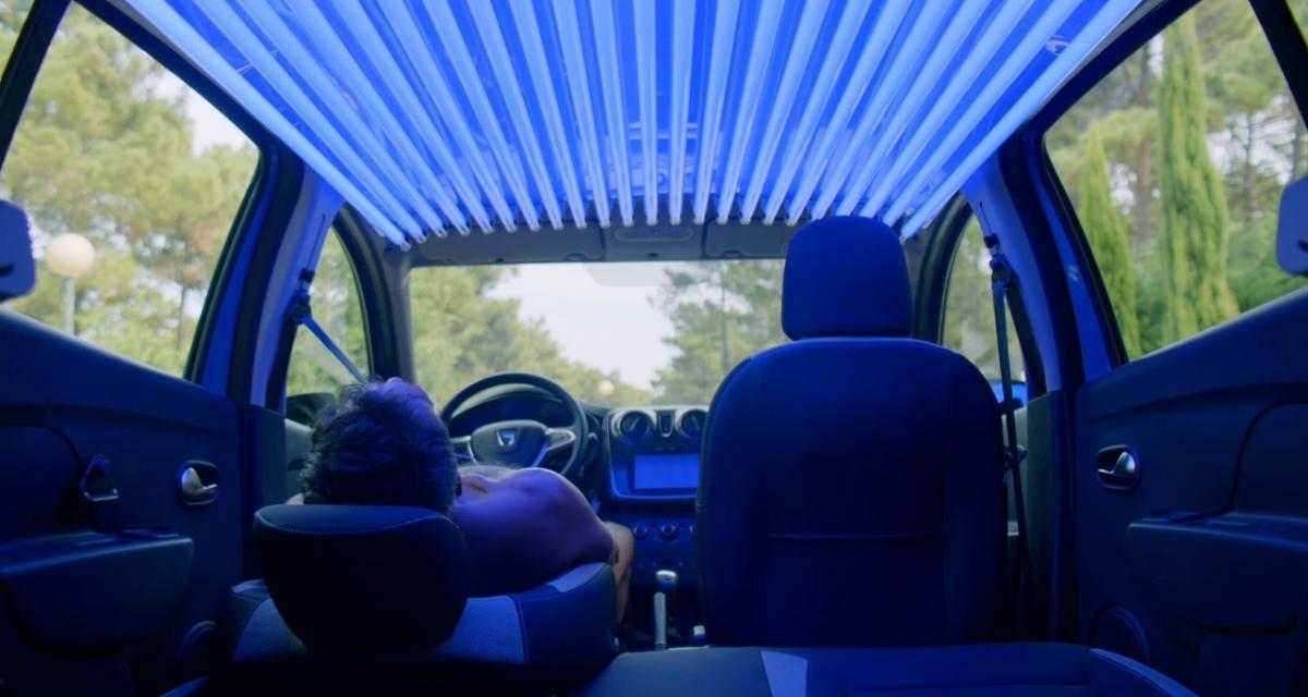 Dacia Sundero : la cabine à UV roulante