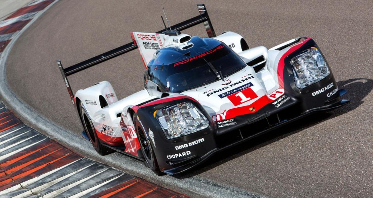 24 Heures du Mans : la Porsche 919 fait les gros yeux pour 2017