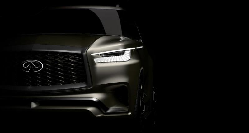 Un nouveau SUV Infiniti pour le salon de New York