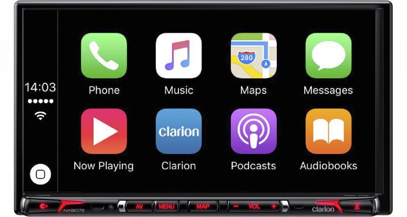 Le combiné multimédia CarPlay haut de gamme Clarion est disponible en France