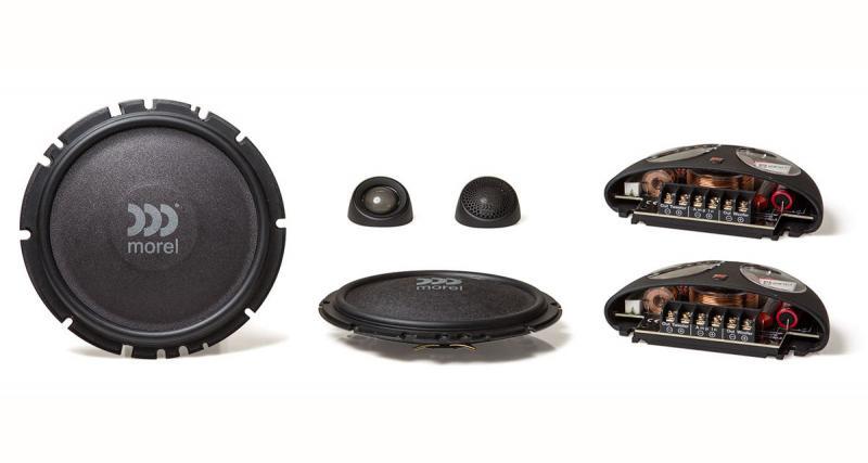 Test : un kit éclaté hi-fi Morel avec woofer extra plat