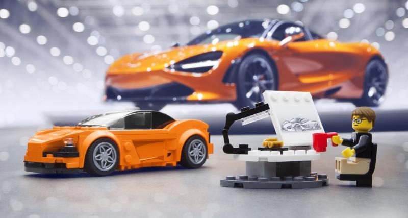 La McLaren 720S maintenant pour petits et grands grâce à Lego