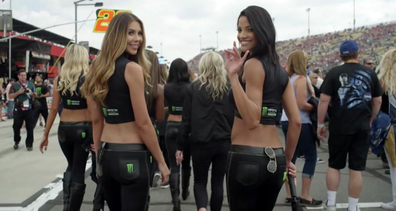 Les Monster Girls sont aussi sexy en NASCAR