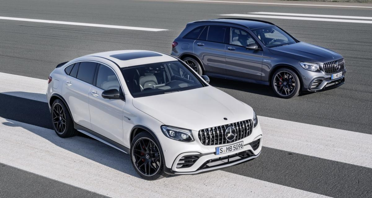 Mercedes-AMG GLC 63 et GLC 63 Coupé : duo d'enfer