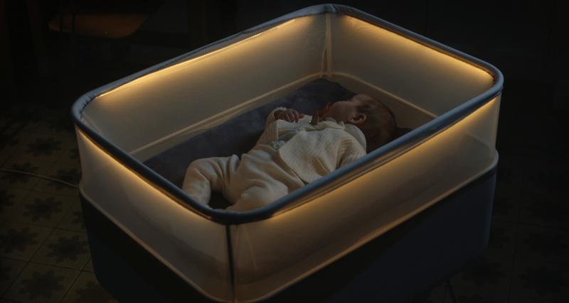 Bercez bébé à la maison comme en voiture