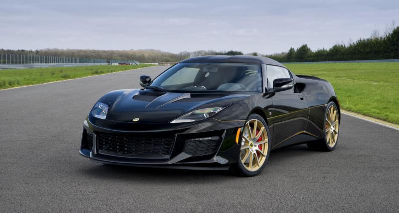 Lotus Evora Sport 410 GP Edition : une version rétro à seulement cinq exemplaires