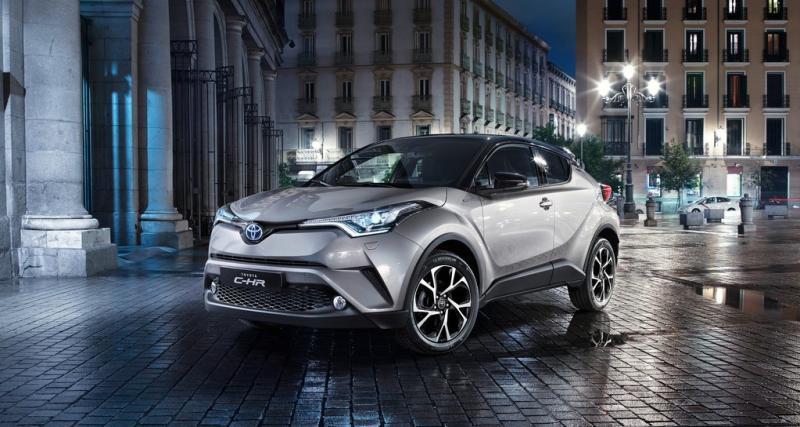 Le Toyota C-HR hybride face à ses concurrents