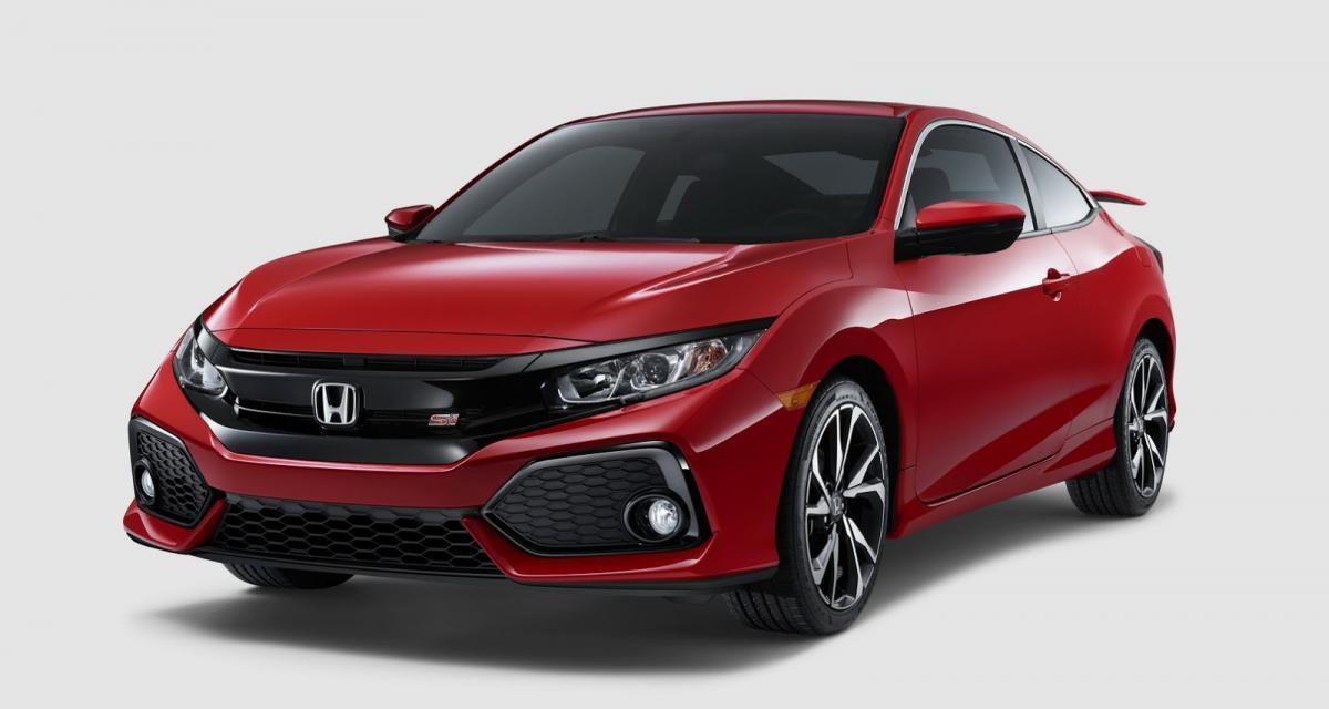 Honda Civic Si : une petite sœur de 208 ch pour la Type R