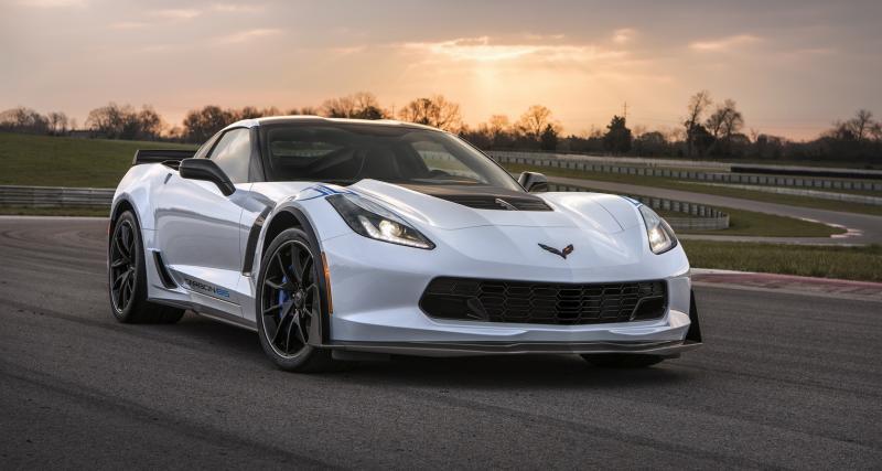 Chevrolet Corvette Carbon 65 : plus de carbone pour célébrer les 65 ans de la Corvette