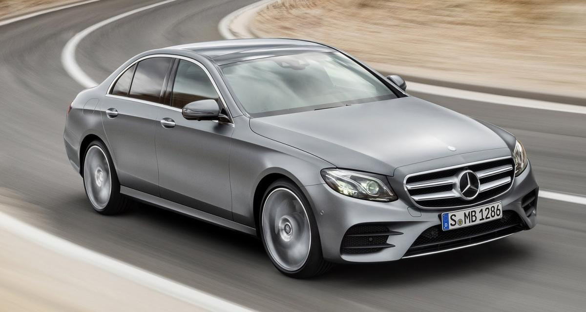 Un rappel supplémentaire pour la nouvelle Mercedes Classe E