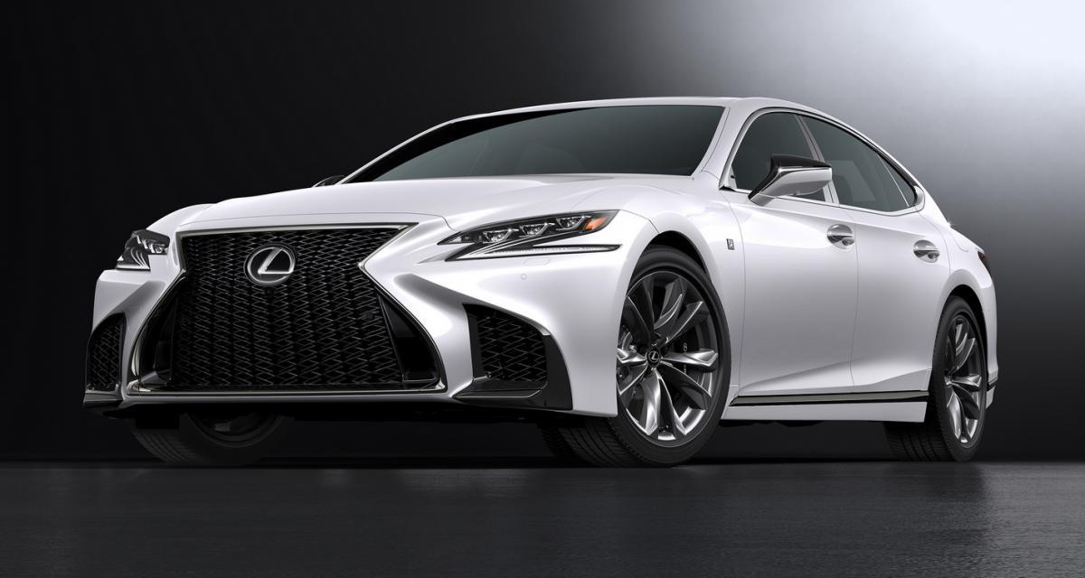 La Lexus LS F Sport se dévoile au grand jour
