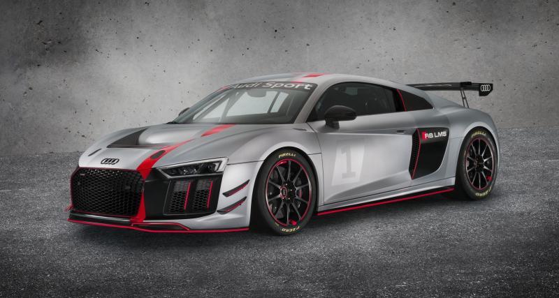 Audi R8 LMS GT4 : le chaînon manquant