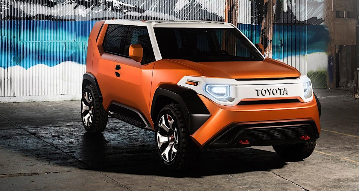 Toyota FT-4X Concept : le crossover branché et ultra-modulable