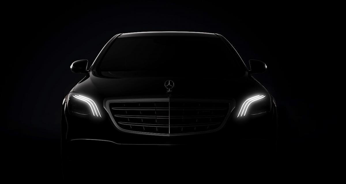 La Mercedes Classe S restylée dévoile son regard