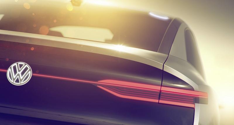 Volkswagen I.D : un concept de SUV coupé électrique au salon de Shanghai