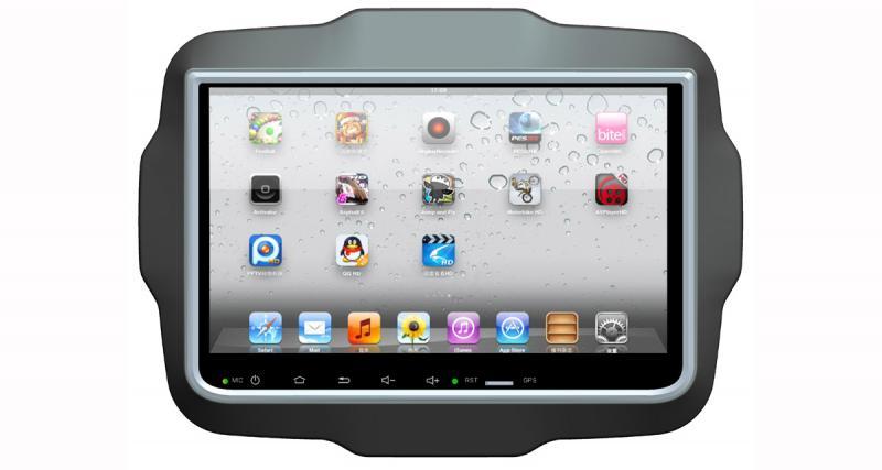 Concept Buy présente un système multimédia Android pour la Jeep Renegade