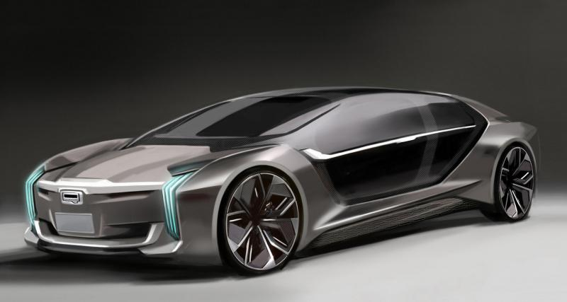 Qoros K-EV Concept : avec un K pour Koenigsegg