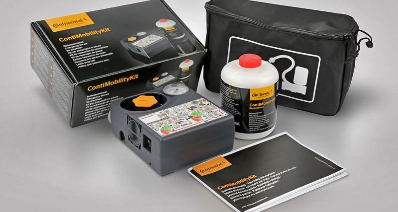 Continental lance deux kits anti-crevaison à emporter partout