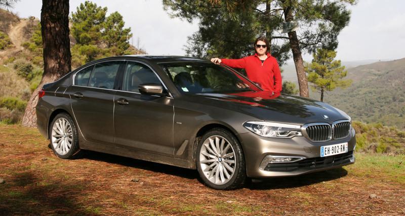 Essai BMW Série 5: plus affûtée