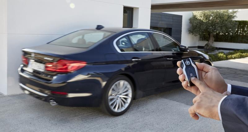 Gesture Control et conduite semi-automatique
