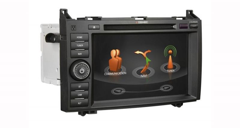 Zenec présente un autoradio GPS haut de gamme pour les camping-cars Mercedes