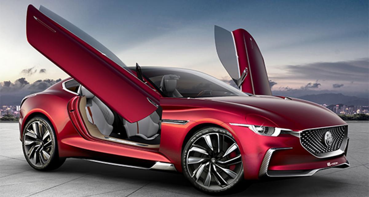 MG E-Motion Concept : vers un retour de MG sur le marché des sportives ?