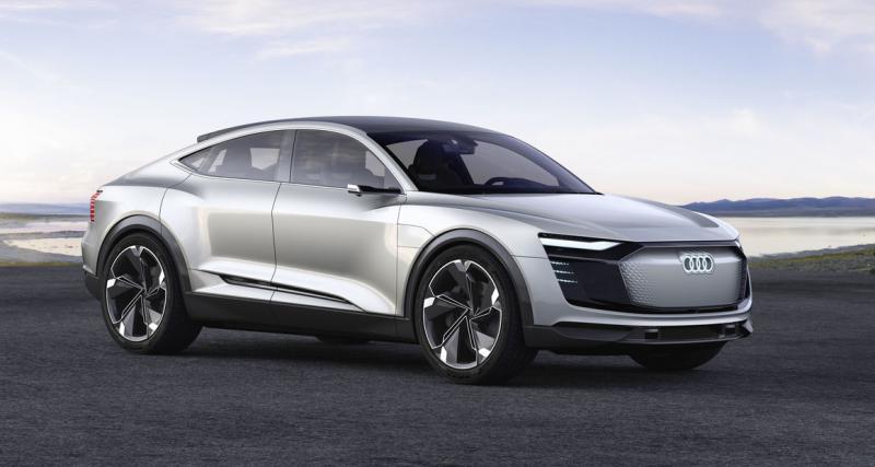 Audi e-tron Sportback Concept : l'alter-ego électrique du Lamborghini Urus ?