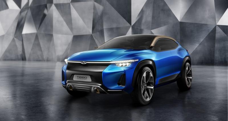 Chery Tiggo Coupé Concept : jouez aux jeux vidéo au volant d'une vraie voiture