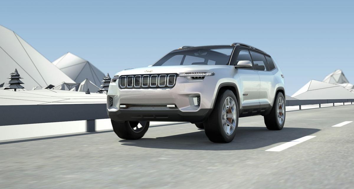 Jeep Yuntu Concept : addiction aux écrans