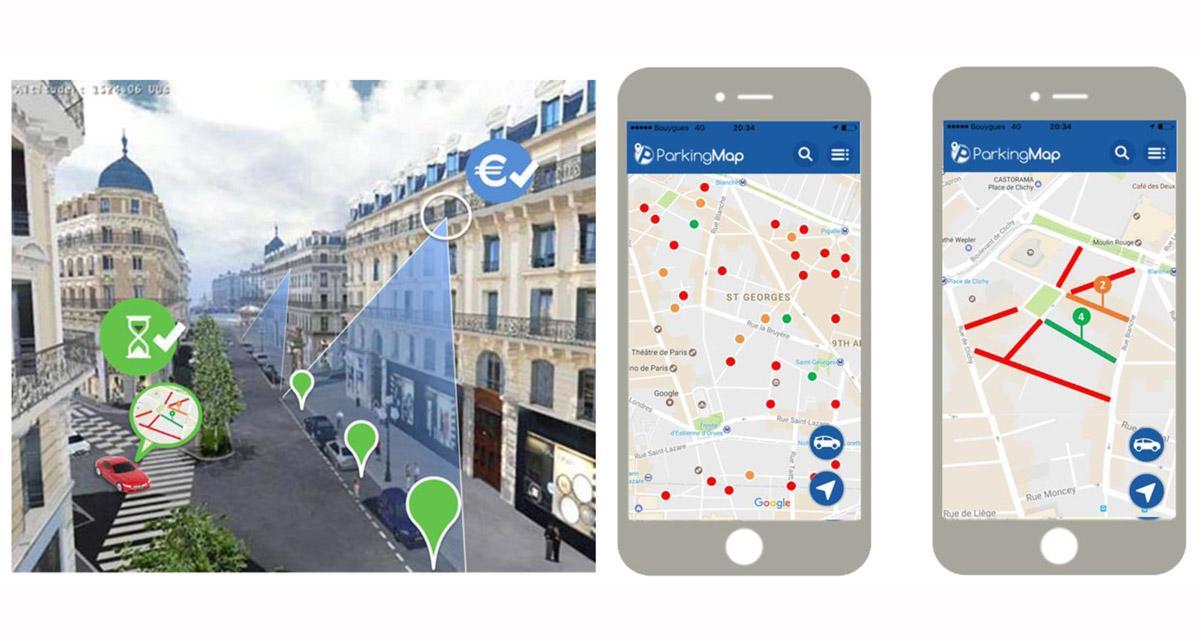 ParkingMap va déployer son projet collaboratif de stationnement connecté
