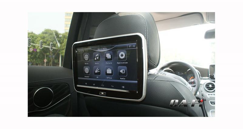 Un système multimédia Android « plug and play » pour les passagers arrière de certaines Mercedes