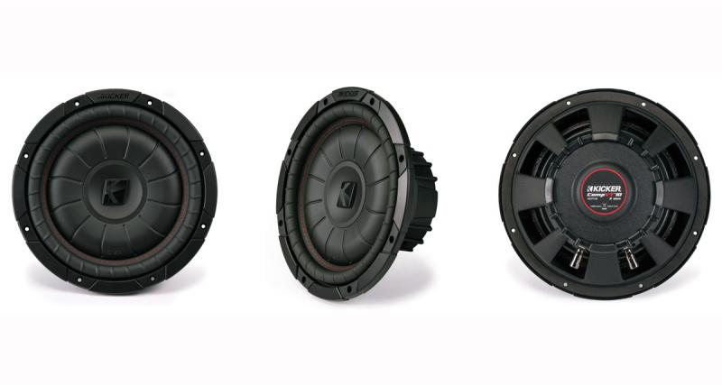 Audio Design commercialise la nouvelle gamme de subwoofers Kicker Comp VT