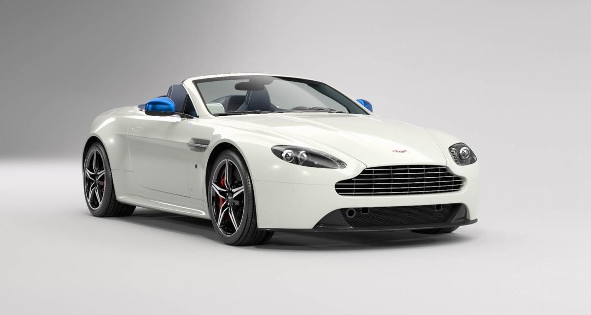 Aston Martin V8 Vantage S Great Britain Edition : tea time à Shanghai