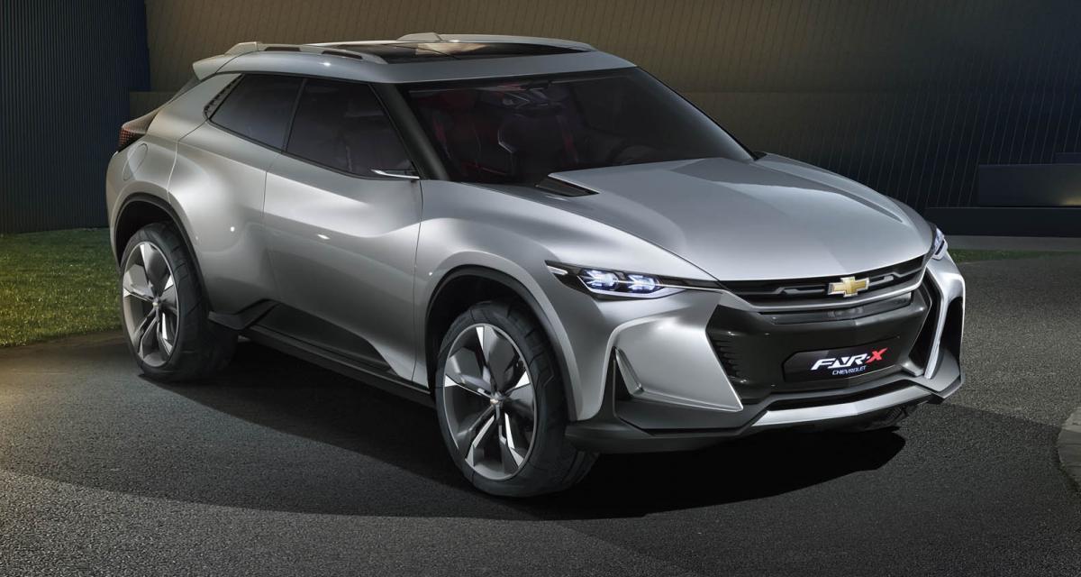 Chevrolet FNR-X : la Camaro des crossovers